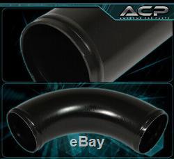12Pcs Diy Mandrel Bent Piping Pipe Kit + Fmic Aluminum Turbo Intercooler Unit