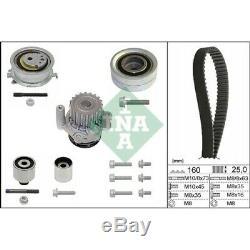 1 Wasserpumpe + Zahnriemensatz INA 530 0550 32 für AUDI SEAT SKODA VW