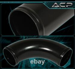 28X7X2.75 Front Mount Intercooler Set+ 2.5 T6061 Aluminum Pipe Piping Kit