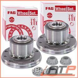2x Fag Wheel Bearing Set Incl. Hub Vw Multivan Caravelle Transporter T5 T6 03