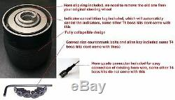 300mm Steering Wheel And Snap Off Boss Kit Fit Vw T25 T3 T4 Transporter Bus