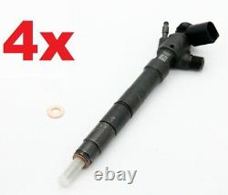 4x VW Volkswagen MAN 2.0 TDI Einspritzdüse Injektor 04L130277AP /BB HRD371