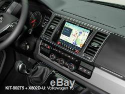 Alpine Facia & Steering Wheel Installation KitFor Volkswagen T5 Facelift-T6 Car