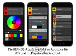 BEPHOS RGB LED Interior Lighting Set Kit VW T5 Caravelle LR APP Control