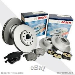 Bosch Bremsscheiben + Beläge Vorne + Hinten Vw Sharan Ford Galaxy Seat Alhambra