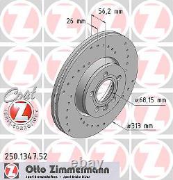 Bremsscheibe (2 Stück) SPORT-BREMSSCHEIBE COAT Z Zimmermann 250.1347.52
