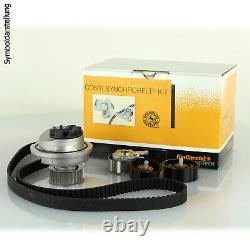CONTINENTAL CTAM Wasserpumpe + Zahnriemensatz Zahnriemen-Set CT939WP8PRO