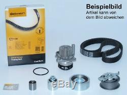 CONTI Zahnriemen +Rollensatz Wasserpumpe VW GOLF 6 PASSAT AUDI A1 A3 1.6 2.0 TDI