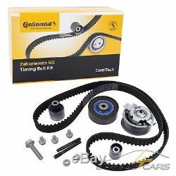 Contitech Zahnriemen-satz Set Kit Audi A1 8x A3 8p 1.6 2.0 Tdi Bj 03-13