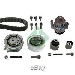 INA Wasserpumpe + Zahnriemensatz Audi A3, A4 VW Caddy, Golf 530 0550 32