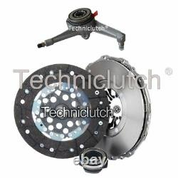Nationwide 3 Part Clutch Kit And Csc For Vw Transporter / Caravelle Bus 2.5 Tdi