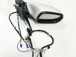Orig. VW T6 Außenspiegel Komplett Schloss Motor Kabel Set L+R Candy White LB9A