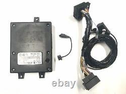 Original VW Bluetooth Steuergerät 7P6035730L Hands Free Car Set Kabelbaum #2408