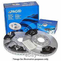 PAGID FRONT AXLE BRAKE KIT BRAKE DISCS Ø340 mm BRAKE PADS SET FOR VW TRANSPORTER