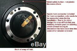 Performance Steering Wheel And Snap Off Boss Kit Fit Vw T25 T3 T4 Transporter