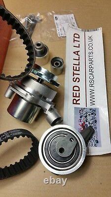 Timing Belt Kit water pump SKODA KAROQ OCTAVIA RAPID SUPERB YETI 1.6 2.0 TDI 16V