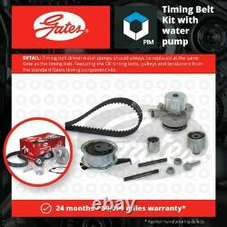 Timing Belt & Water Pump Kit KP15678XS Gates Set 5678XS 788313321 Quality New