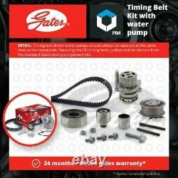 Timing Belt & Water Pump Kit fits VW Set Gates VOLKSWAGEN Top Quality Guaranteed