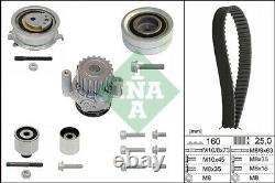 Timing Belt & Water Pump Kit fits VW Set INA 036109244K 038109244P 03L109119B