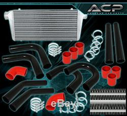 Turbo/Super Charger Front Mount Intercooler Fmic Piping Kit Couplers Clamp