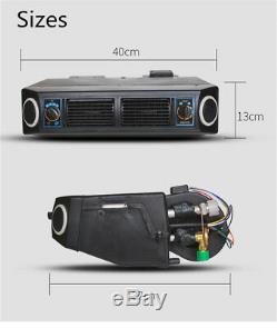 Universal 24V Car Under Dash Air Conditioning Kit 3-level Evaporator Compressor