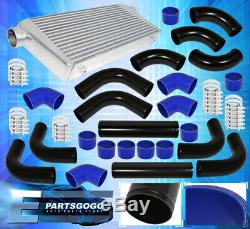 Universal Bar & Plate Jdm Intercooler +75mm Piping Kit + Silicone Adapter +Clamp