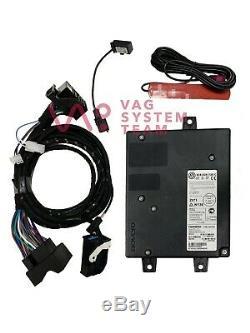 VW Bluetooth 3C8035730C Hands Free Car Kit Module Wiring Set /#573 VW T5