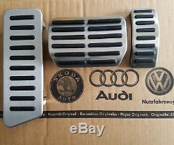 VW Bus T5 original Pedalset Pedale Fußstütze pedal pads caps Multivan GP T6