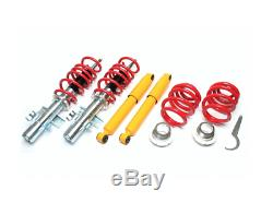 VW CARAVELLE T5 / T6 ADJUSTABLE COILOVER SUSPENSION KIT COILOVERS incl TÜV