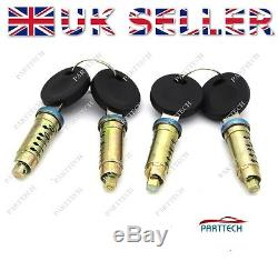VW T4 TRANSPORTER CARAVELLE 1990-2003 Door Lock Barrel & LOCKSET x 4 pcs NEW