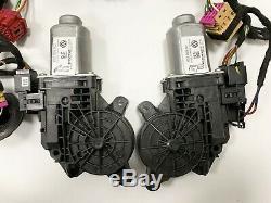 VW T5 FL Außenspiegel Komplett Schloss Motor Kabel Set L+R Candy White LB9A