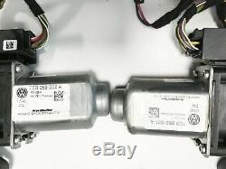 VW T5 GP el. Außenspiegel Komplett Schloss Motor Kabel Set Toffeebraun LH8Z