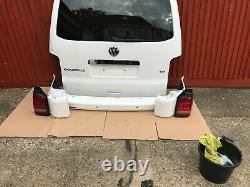 VW T5, T5.1 Transporter/Caravelle Tailgate conversion kit white
