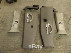 VW T5 Transporter Caravelle Shuttle B pillar trim kit with grab handles