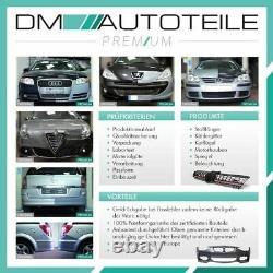 VW T5 Transporter Multivan Stoßstange hinten für PDC grundiert MONTAGEKIT 03-12
