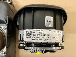 VW T6 Transporter Caravelle Dashboard Airbags Kit Driver & Passenger Side