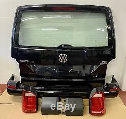 VW T6 Transporter Caravelle Tailgate Rear End Conversion Kit Black