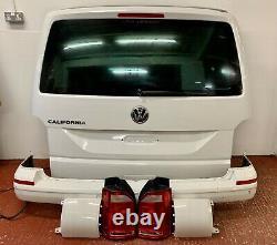 VW T6 Transporter Caravelle Tailgate Rear End Conversion Kit White