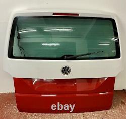 VW T6 Transporter Caravelle Tailgate Rear End Conversion Kit White Red