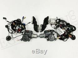 VW T6 elektr. Außenspiegel Komplett Schloss Motor Kabel Set L+R Candy White LB9A