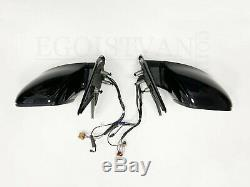 VW T6 elektr. Außenspiegel Komplett Schloss Motor Kabel Set L+R Deep Black LC9X