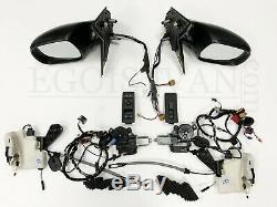 VW T6 elektrische Außenspiegel Schloss Motor Kabel Schalter Spiegel Set 9B9