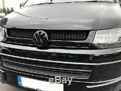 VW Transporter T5.1 Meduza RS5 Front Bumper Lip Body Kit Caravelle Multivan