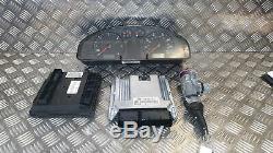 VW Transporter T5 Caravelle 03-10 1.9 TDI ECU Kit Set Lock Key 038906016AJ