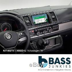 Volkswagen T6 8 Facia & Steering Wheel Installation Kit For Alpine X802D-U