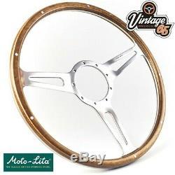 Vw Beetle Kafer 1968 73 Polished Alloy Steering Wheel Boss Kit & Horn Upgrade