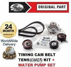 Vw Caravelle 2.5 Tdi 10v 1995-2003 Timing Cam Belt Tensioner + Water Pump Kit