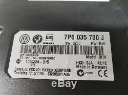 Vw Seat Skoda Bluetooth Module Interface Kit Rns510 Rcd510 7p6035730j Harness