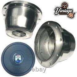 Vw Splitscreen Camper Van T2 16 Dark Wood Alloy Rim Steering Wheel Upgrade Kit