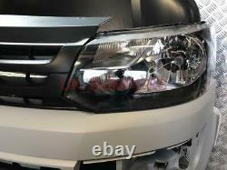 Vw T5 To T5.1 Facelift Front End Conversion Kit Caravelle Transporter Primed